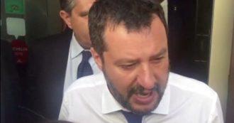 """Ponte Morandi, Salvini: """"Squallido parlare in una giornata come questa di autostrade"""""""