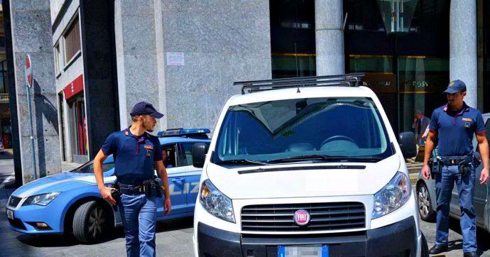 Torino, donna sequestrata in pieno centro e liberata dagli agenti. Fermati quattro tedeschi: il movente è una storia di recupero crediti