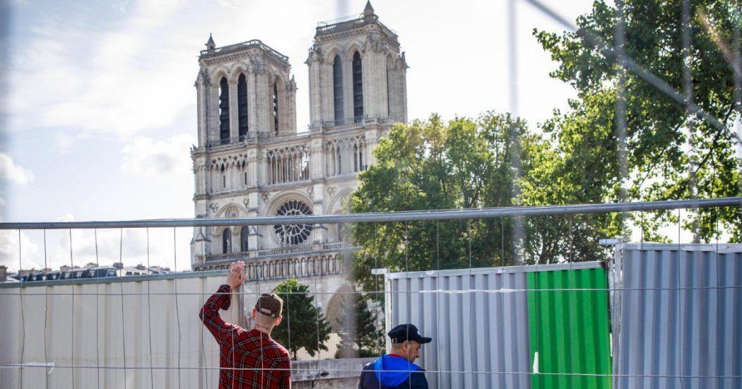 Notre-Dame: al via i lavori di bonifica dal piombo