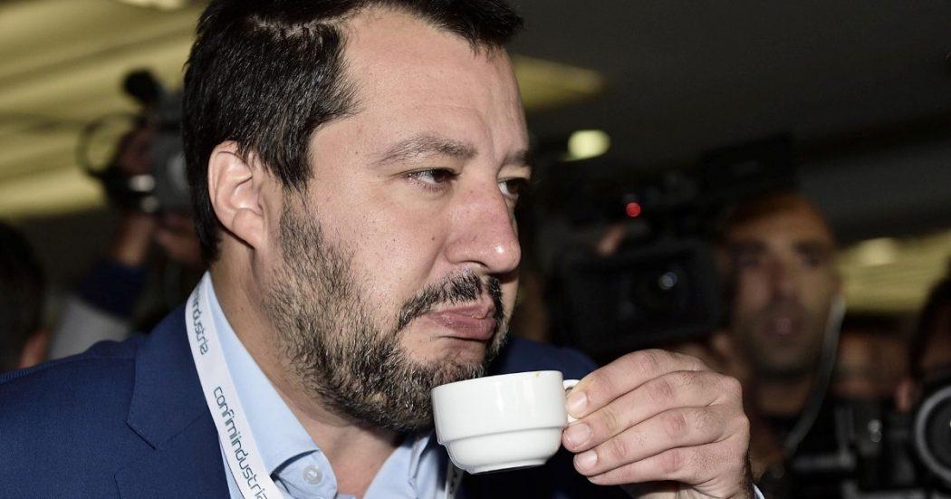 """Il """"caffè"""" di Salvini nel bar dello strano mutuo di Siri"""
