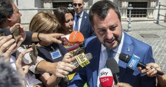 Par condicio, Salvini è il politico più presente in tv: suoi un terzo degli interventi su Mediaset, primo anche su Tg2, Tg3, Sky e La7
