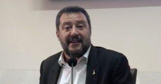 """Migranti, Salvini: """"Per colpa della mia 'ossessione' diminuiti gli sbarchi. Da Conte sfogo umorale"""""""