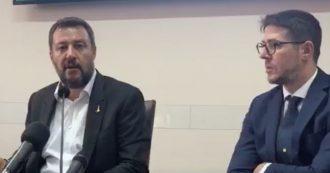 """Crisi, Salvini: """"Dialogo con M5s? Secondo me non c'è possibilità. Mio telefono sempre acceso"""""""