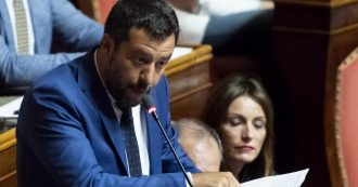 """Salvini a Conte: """"Ossessionato da immigrati? È la mia missione. Io sempre stato leale. Ma qui qualcuno vuole un governo Renzi-Boldrini"""""""