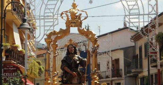 Reggio Calabria, pregiudicati tra portatori statua del Santo: parroco annulla processione
