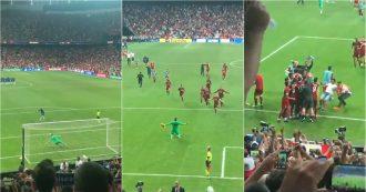 Liverpool, Adrian para il rigore decisivo poi se la deve vedere con l'irruenza di un tifoso