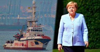 """Open Arms, situazione bloccata nonostante la disponibilità di 6 Paesi Ue. Merkel: """"Servono ridistribuzione chiara e missione Sophia"""""""
