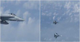Russia, F-18 Nato intercetta l'aereo del ministro della Difesa. Respinto da caccia del Cremlino