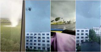 Cina, tornado si abbatte su Yingkou: sei feriti. Le immagini sono spaventose