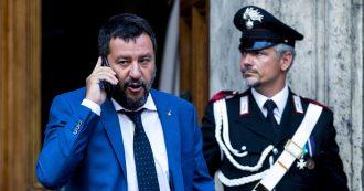 """Crisi, Salvini: """"Ci sono persone disposte a votare anche il governo della Fata turchina. Ritirare ministri? Ascoltiamo Conte e vediamo"""""""