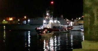 Lampedusa, nella notte arrivati 57 migranti. Intercettati da Gdf sono stati portati in salvo
