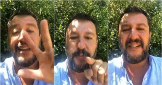 """Crisi, Salvini: """"Governo Pd-M5s? Se qualcuno vuole ribaltoni o inciuci lo dica. O elezioni o ci si risiede al tavolo"""""""