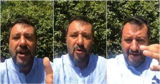 """Open Arms, Salvini: """"Chi la dura la vince, non sbarcano in Italia. La Spagna ha aperto i porti"""""""