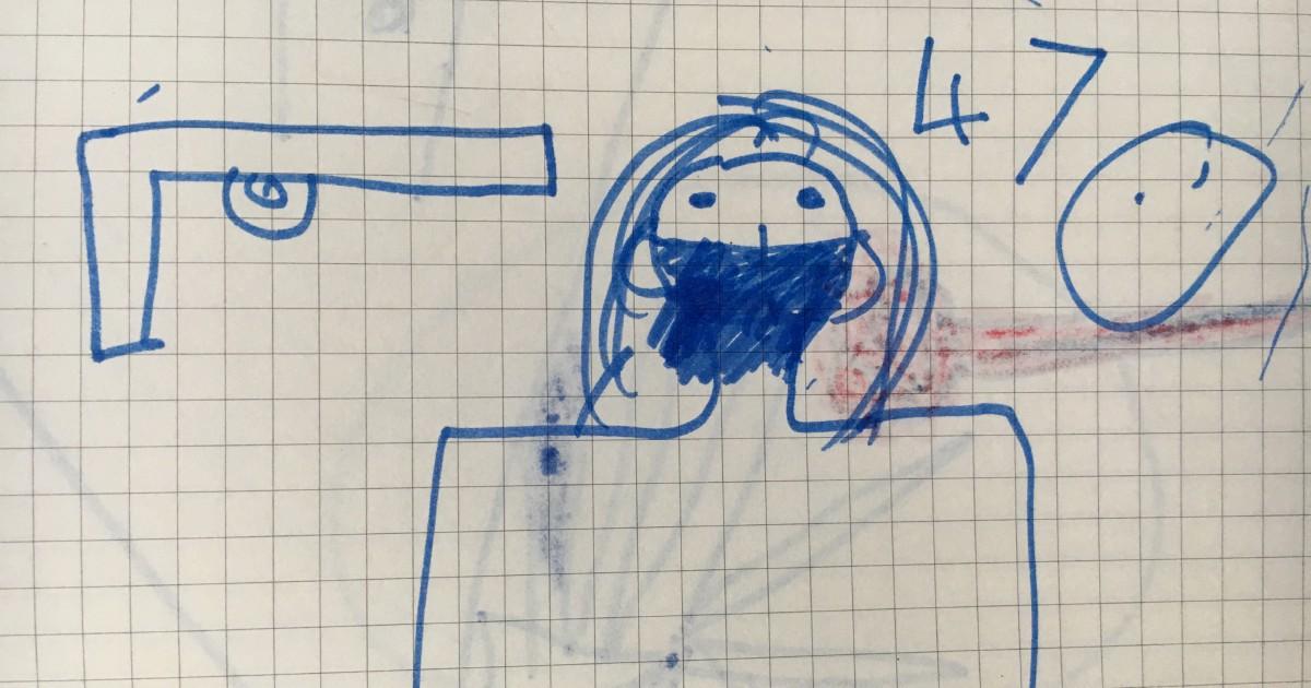 Mahmud e i suoi disegni: il viaggio per i bambini