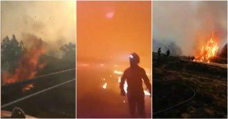 Gran Canaria, spaventoso incendio sta divorando l'isola da tre giorni. Le immagini