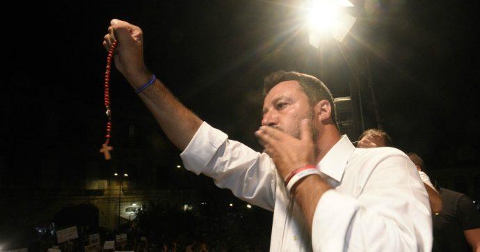 La supplica di Salvini al cuore immacolato
