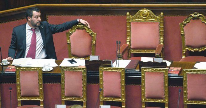 In Edicola sul Fatto Quotidiano del 19 Agosto: Resa dei conti – Salvini si incolla alla poltrona