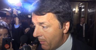 """Crisi di governo, Renzi: """"Salvini irresponsabile, aprire la crisi è follia"""". E poi aggiunge: """"Darò una mano per non andare a sbattere"""""""
