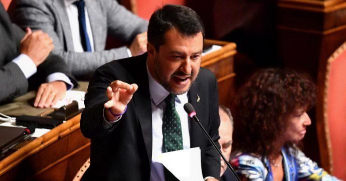 """Salvini: """"Rifarei tutto"""". Poi riapre ai 5 Stelle: """"Taglio dei parlamentari, manovra coraggiosa e voto"""". E la Lega ritira la mozione di sfiducia"""