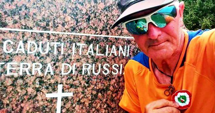 Memoria e bicicletta, il viaggio sulle strade della ritirata italiana in Russia. Il ciclista varesotto ricorda i 100mila soldati morti