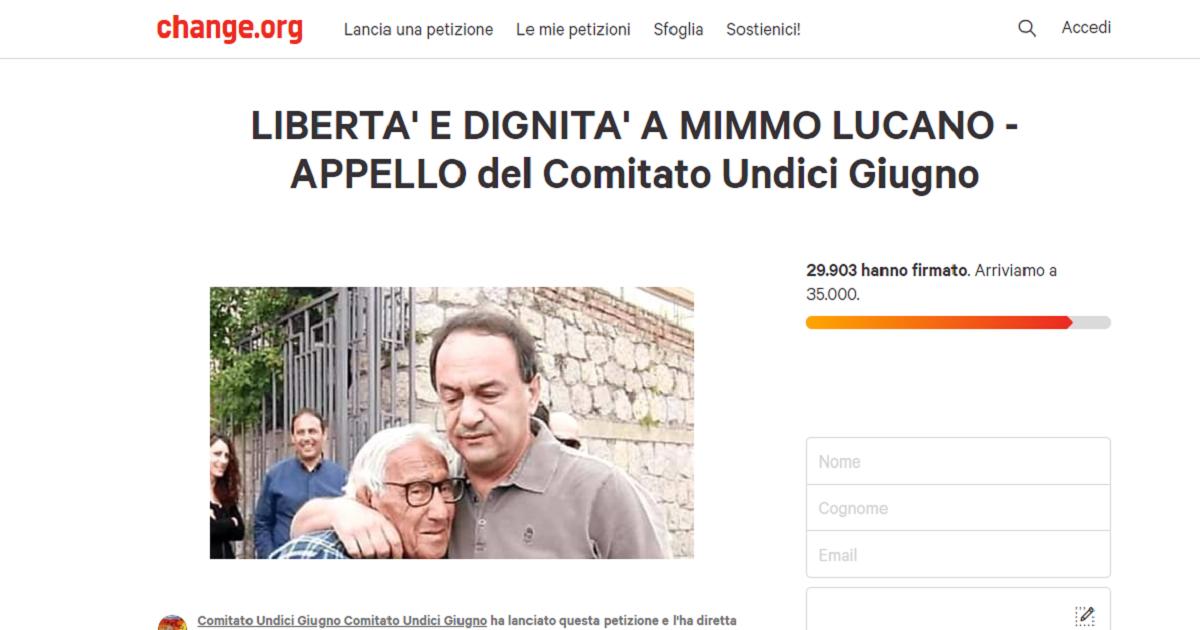 Mimmo Lucano, aumentano le firme perché riveda suo padre. Gli italiani non lo lasciano solo