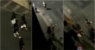 Firenze, maxi rissa in via dei Vanni: notte di follia a colpi di spranga