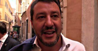 """Crisi, Salvini: """"Altri parlano di ministeri, noi pensiamo alla prossima manovra economica"""""""