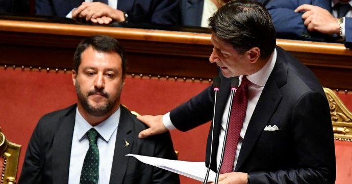 In Edicola sul Fatto Quotidiano del 21 Agosto: Conte affonda Salvini e dice addio ai gialloverdi