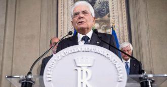 """Mattarella richiama i partiti: """"Decisioni chiare e tempi brevi. Altrimenti si vota, ma non è decisione da assumere alla leggera"""""""