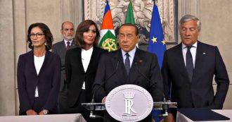 """Crisi, Berlusconi: """"Maggioranza di centrodestra o elezioni anticipate. Governo M5s-Pd sbilanciato a sinistra pericoloso per imprese e sicurezza"""""""