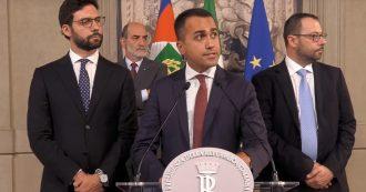 """Crisi, Di Maio al Quirinale: """"Dieci punti decisivi per un governo"""". L'intervento integrale"""