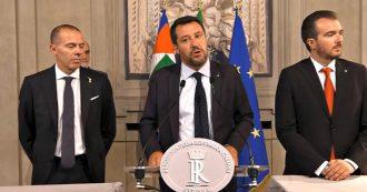 """Crisi, Salvini: """"Di Maio ha lavorato bene. Sì a governo che costruisce e guarda avanti"""""""