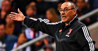 Maurizio Sarri, il tecnico della Juventus non sarà in panchina nelle prime due giornate di Serie A: salta il big match contro il Napoli
