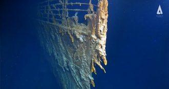 Titanic, nuove immagini dagli abissi: il relitto filmato da Atlantic Production. Ecco cosa rimane