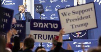 Il senso di Trump per gli ebrei: buoni solo se lo votano