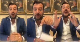 """Crisi, Salvini: """"Accordo Pd-M5s? Da brividi. Porte aperte pur di evitare Renzi e Boschi al governo"""""""