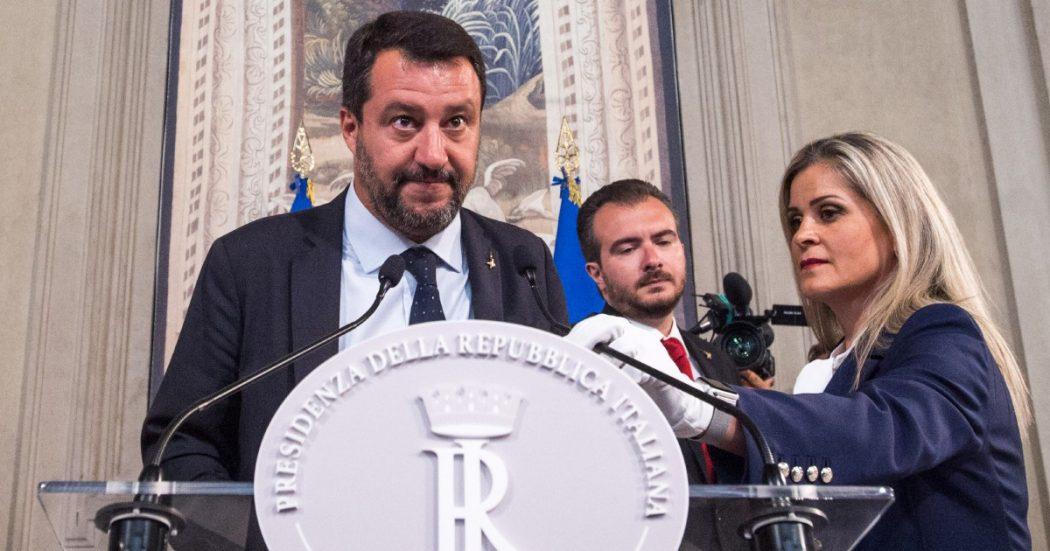 """Farsa Salvini: """"Se mi chiama Di Maio, mica ho rancore…"""""""