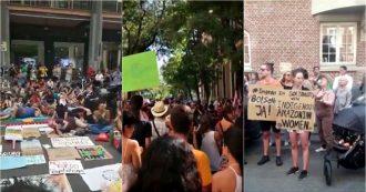 Amazzonia in fiamme, il mondo si mobilita per la foresta: manifestazioni da Madrid a Milano