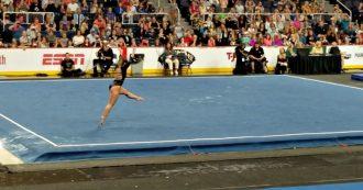 Ginnastica, l'addio di Katelyn Ohashi è da applausi: l'ultimo esercizio dell'atleta americana ottiene il massimo del punteggio