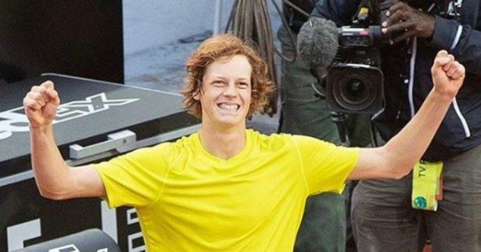 Jannik Sinner, è nato un tennista che sembra un alieno. E il mondo dovrà abituarsi al suo nome