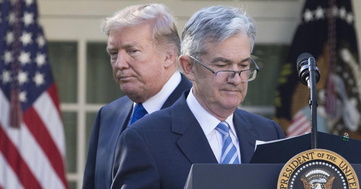 """Trump minaccia la Fed: """"Non ha fatto niente"""""""