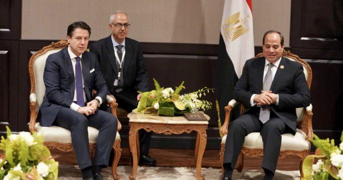 """Regeni, Conte incontra Al Sisi al G7: """"Cambia il governo, non la nostra voglia di verità"""". Il presidente egiziano: """"Gli sforzi continuano"""""""