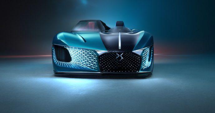 DS X E-Tense, la sportiva elettrica di domani è metà coupé e metà roadster – FOTO
