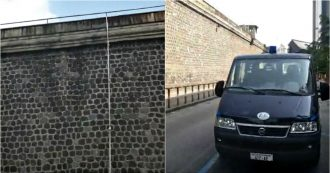 Napoli, detenuto per omicidio evade dal carcere di Poggioreale usando una corda di lenzuola: è la prima volta che accade in 100 anni