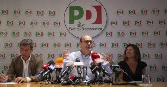 """Governo, diretta – Di Maio a Zingaretti: """"Conte unico nome"""". Il segretario Pd fa conferenza stampa e non parla del premier: """"No a rimpastone, ma faremo di tutto per trovare una soluzione"""""""