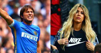 """Mauro Icardi, parla la moglie-agente Wanda: """"Per me resterà all'Inter"""". Conte si prepara all'esordio a San Siro contro il Lecce"""