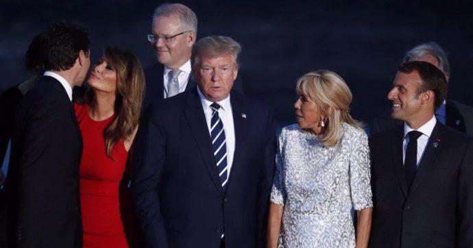 Melania Trump bacia Justin Trudeau al G7 e diventa la leader degli anti-trumpisti. Ma non è la prima volta: ecco tutti i precedenti