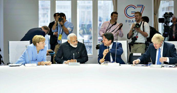 G7: aiuti all'Amazzonia, accordo sulla web tax e nuovi colloqui con Iran e Cina. L'ultima giornata del summit, tra accordi e tensioni