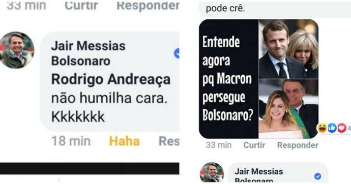 """G7, Bolsonaro offende Brigitte Macron su Facebook. Il presidente francese: """"Auguro ai brasiliani un presidente all'altezza"""""""