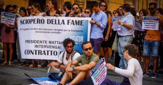 """Reddito, stop allo sciopero della fame dei quattro navigator campani: """"Siamo in grave stato di salute. Ma non ci hanno ascoltato"""""""